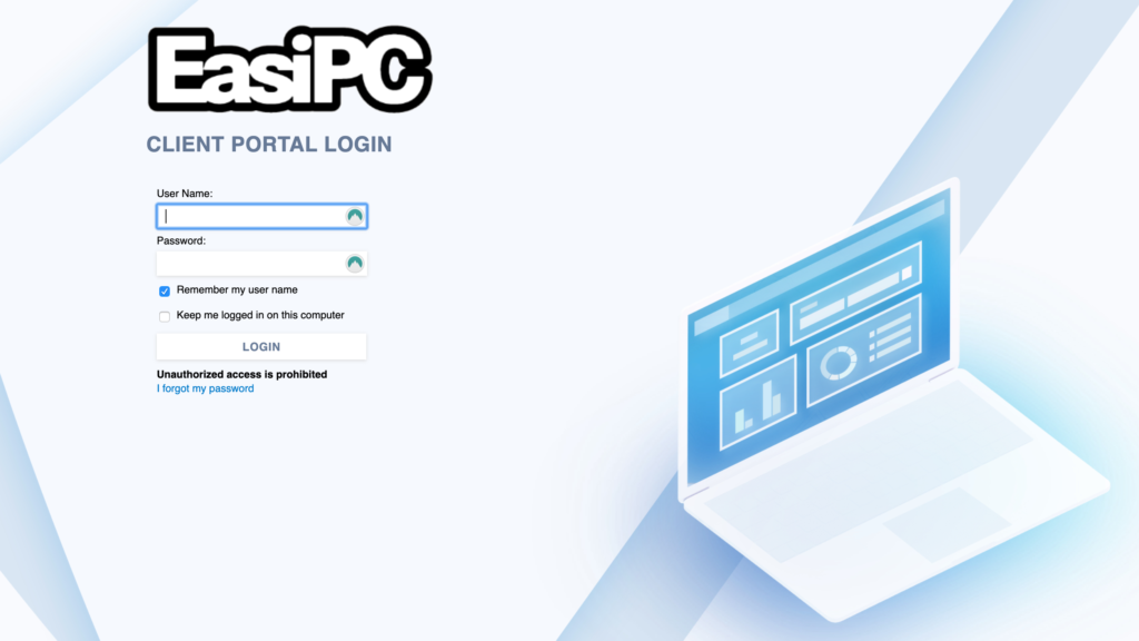 EasiPC Client Portal Support