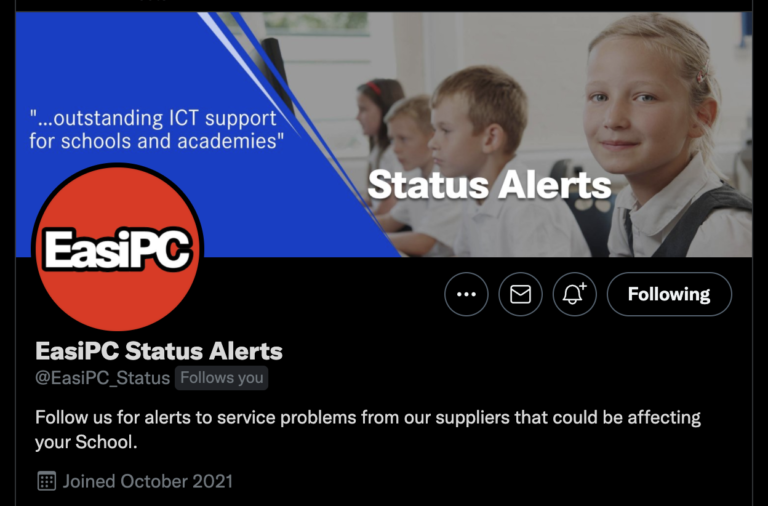 Status Alerts